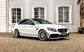 mercedes c class coupe tuning mercedes c class 2016 w205 carlsson white mercedes
