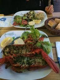 cuisine langouste plancha langouste a la plancha et seiche photo de les trésors de la mer
