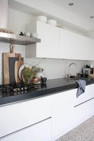 Black White Kitchen Ideas by Best 25 White Contemporary Kitchen Ideas Only On Pinterest