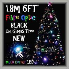 premium 1 8m 6ft 180cm black density fibre optic tree