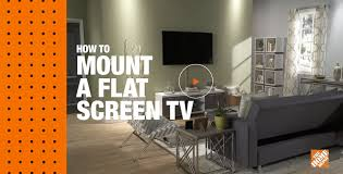 Interior Design Tv Wall Mounting by How To Mount A Flat Screen Tv
