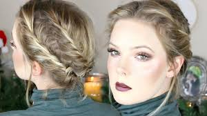 Updo Hairstyles For Short Hair Easy by Easy Updo For Short Hair Youtube