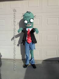 coolest homemade plants zombies costume plants zombies
