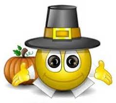 thanksgiving smiley clipart