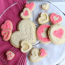 Valentine S Day Cookie Decor by Valentine Heart Sugar Cookies Itsy Bitsy Foodies