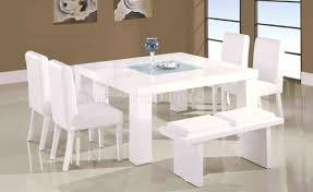 White Leather Dining Chairs Canada Furniture Gorgeous Table And White Leather Dining The Lovable