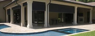 Exterior Shades For Patios Roll Down Shades For Patio Dubious Beat The Heat Offers Patio