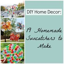 diy home decor 19 homemade suncatchers to make favecrafts