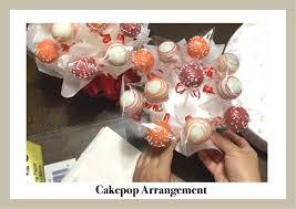 cake pop bouquet how to display cakepops cakepops gift box bouquet arrangement