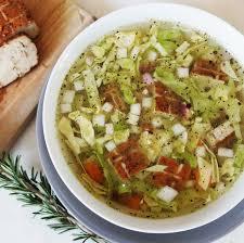 cuisiner choux blanc recette diététique soupe repas au chou blanc et au tofu fumé