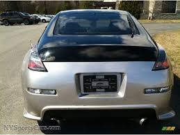 Nissan 350z Silver - 2003 nissan 350z coupe in chrome silver photo 8 110351