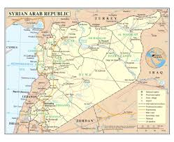 Homs Syria Map by Maps Of Syria Detailed Map Of Syria In English Tourist Map