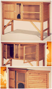 Large Rabbit Hutch 25 Best Rabbit Hutches Images On Pinterest Rabbit Hutches