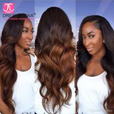 cheap top quality ombre brazilian body wave two tone t1b 27 t1b 30