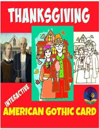 thanksgiving interactive card american by cool classroom