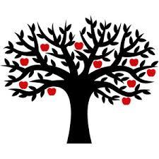 silhouette design store view design 146537 apple tree