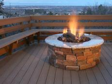 Firepits Gas Outdoor Gas Pits Hgtv