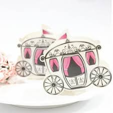 cinderella pumpkin carriage fairy tale favors gifts diy baby shower wedding candy box