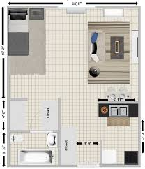 Floor Plans With Furniture Rbj Center Rents