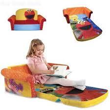 flip open sofa elmo flip open sofa sesame street kids furniture lounger