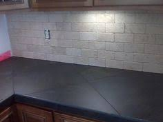Tile Kitchen Countertops Ideas Install Tile Laminate Countertop And Backsplash Laminate