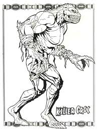 the batman coloring pages batman killer croc coloring book page printable batman coloring