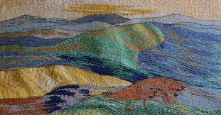 Textile Arts Now Tutorial 02 Landscape Textile Textileartist Org