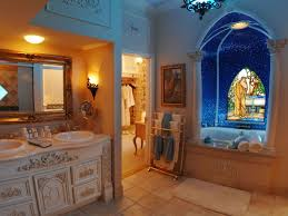 spacious master bathroom ideas featuring glass shower room and