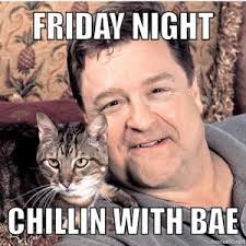 Friday Night Meme - meme friday night chillin with bae picture golfian com