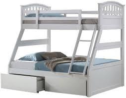 Artisan White Three Sleeper Bunk Bed Bedstarcouk - Three sleeper bunk bed