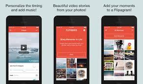 membuat video aplikasi cara membuat foto instagram menjadi video dengan aplikasi flipagram