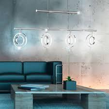 Wohnzimmerlampe H Enverstellbar Elegante Pendelleuchte Mit Led Leuchtmitteln Prater Lampen U0026 Möbel