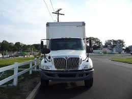 international box van trucks for sale