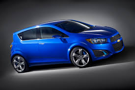 chevy puts some might in its mouse with the aveo rs concept gm