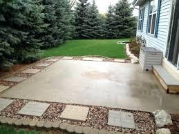 Concrete For Backyard by Small Concrete Patio Ideas U2013 Smashingplates Us