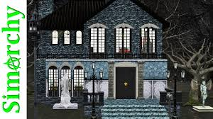 the sims 3 house tour haunted house halloween costume party