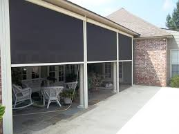 retractable screen porch motorized screens for porches patios and