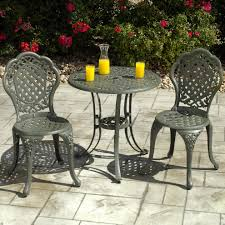 Bistro Home Decor Elegant Bistro Table And Chair Set For Home Decor Ideas With