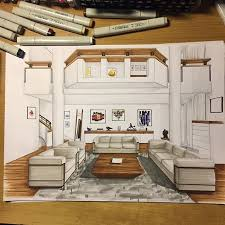 interior design sketch резултат слика за sketch interiors children room crtanje 1