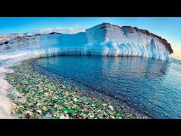 glass beach arctic glass beach mystery beach phenomenon youtube