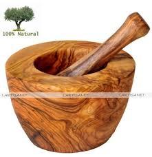 mortier cuisine bois bois d olivier ustensiles de cuisine et vaisselle bio et écolo