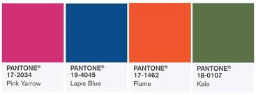 2017 color pallets pantone spring summer 2017 color report the hottest hues of the