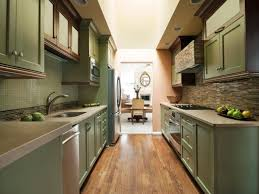 kitchen with half wall house design and planning