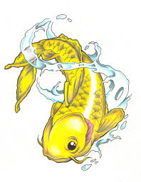 free pisces koi fish tattoo design photos pictures and sketches