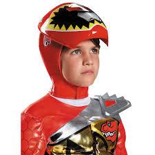 dino halloween costume buy power rangers dino charge prestige kids red ranger costume