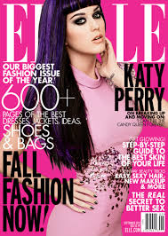katy perry covers elle us u0027 september 2012 issue