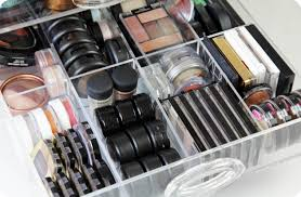 makeup storage make up collectionorage muji drawer tour i covet