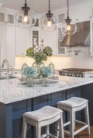 blue and white kitchen ideas white and blue kitchen
