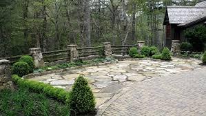 B B Landscaping by Patios Walks Walls U0026 Drives U2014 B B Barns Asheville U0027s Premier