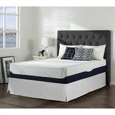 Full Set Bed Frame by Night Therapy Gel Infused Memory Foam 13